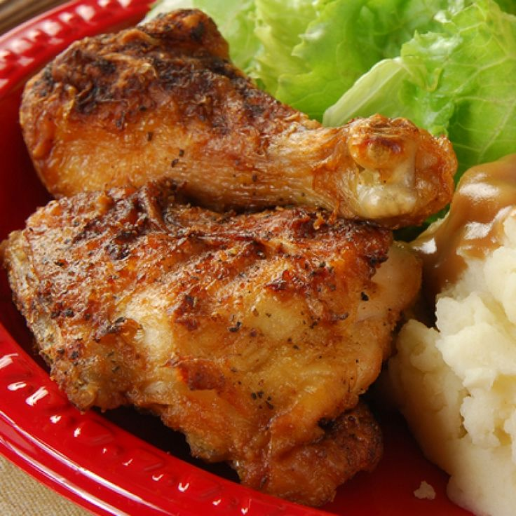 This baked chicken pieces recipe is very easy to make and to bake.. Baked Chicken Pieces Recipe from Grandmothers Kitchen.