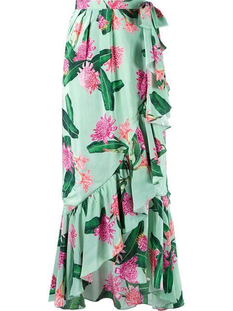ISOLDA high-waisted midi skirt. #isolda #cloth #skirt