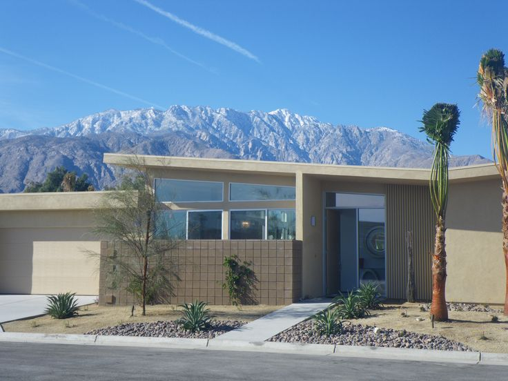 82 best images about modern homes on pinterest mid for New modern homes palm springs