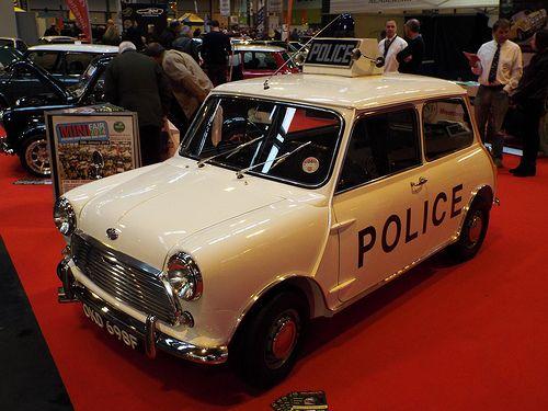 Police Mini Cooper