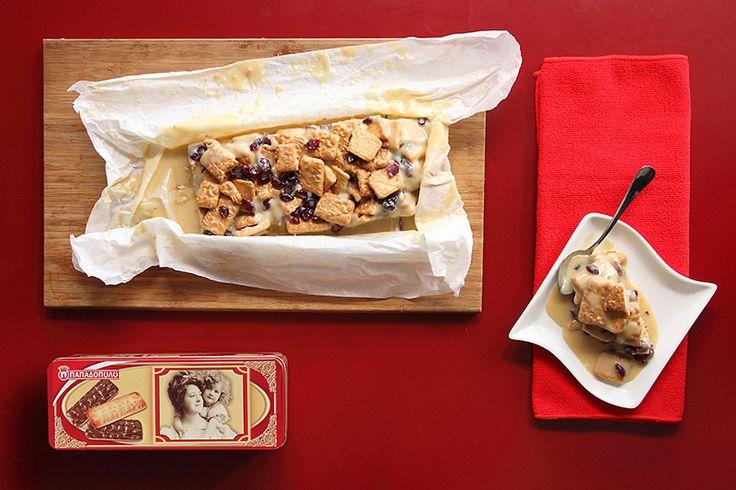 Κορμός λευκής σοκολάτας με Μιράντα ΠΑΠΑΔΟΠΟΥΛΟΥ
