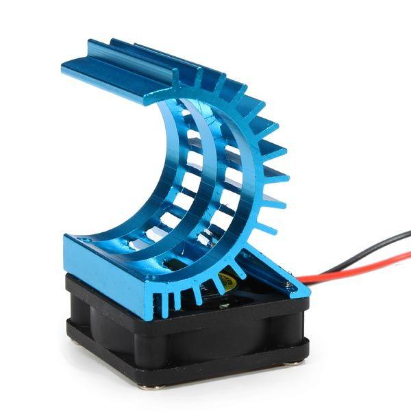 Aluminum Heat Sink Cooling Fan For 380 2830 RC Motor