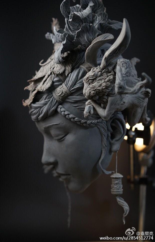 Sculptures épiques de Yuanxing Liang -Blog Graphiste / Sculptures, photos, Ver & Vie….