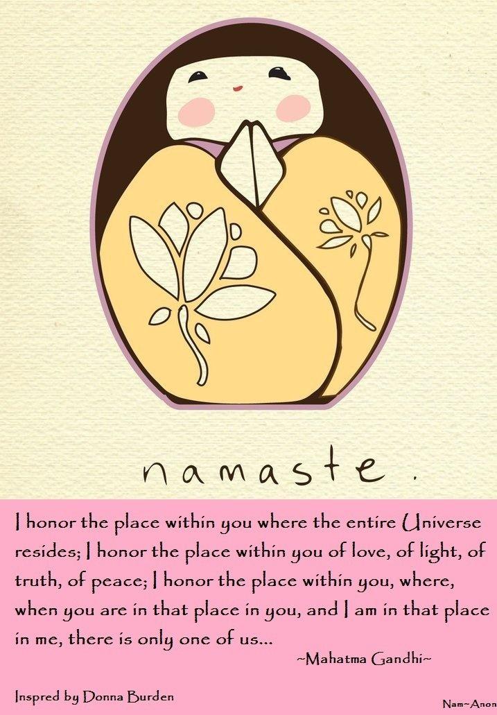 namasteTags, Matryoshka, Inspiration, Namaste Kokeshi, Peace, Namaste Namaste, Spirituality, Namasté, Yoga