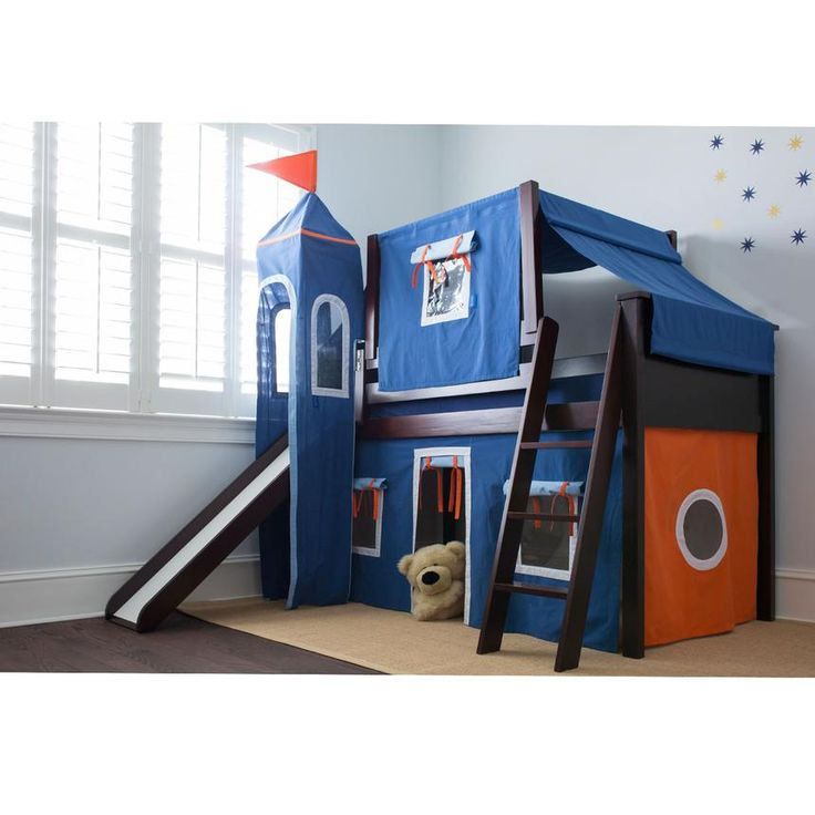 el dorado furniture cabana cherry twin loft bed