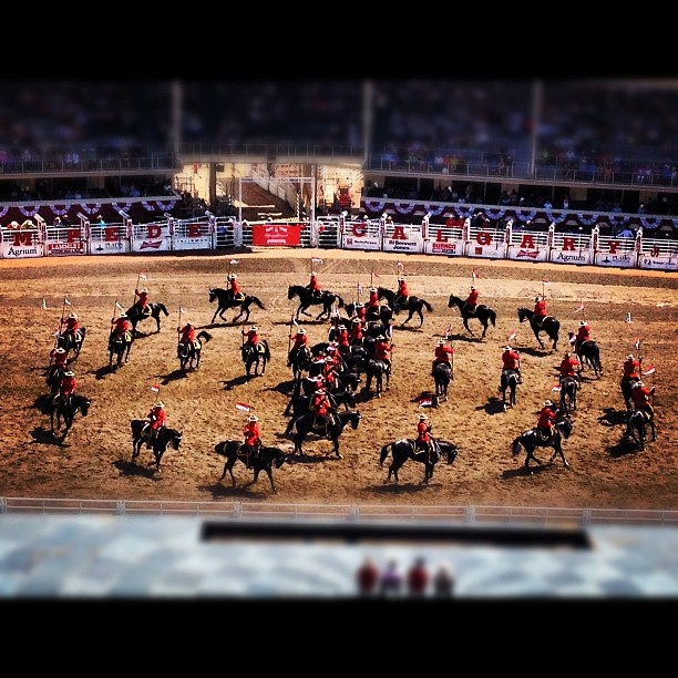 The RCMP Musical Ride is an amazing tradition. Thanks to @Devender Kainth for sharing such a great moment on Instagram. #stampede100