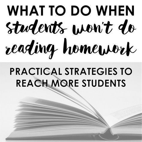 What to do when college students will not do studying homework