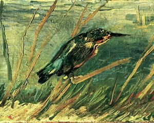 The Kingfisher  - Vincent van Gogh