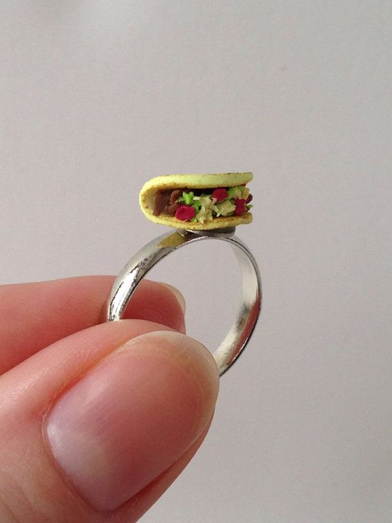 Tacos Clay Food And Miniature On Pinterest