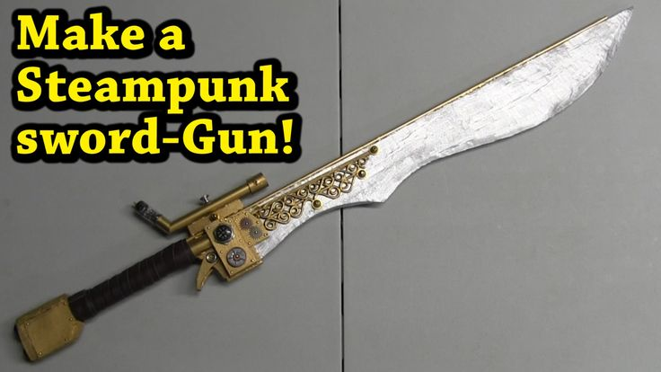 See our new post (DIY Steampunk Sword Gun (Gun Blade)) which has been published on (Explore the World of Steampunk) Post Link (http://steampunkvapemod.com/diy-steampunk-sword-gun-gun-blade/)  Please Like Us and follow us on Facebook @ https://www.facebook.com/steampunkcostume/