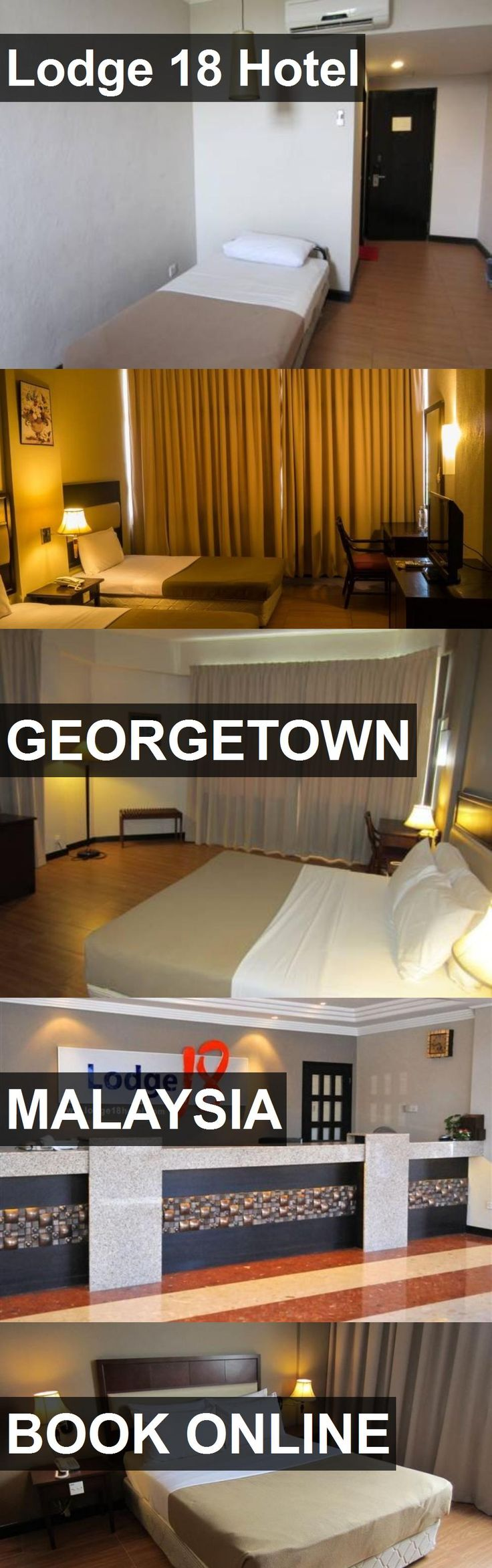 Hotel Lodge 18 Hotel in Georgetown, Malaysia. For more information, photos, reviews and best prices please follow the link. #Malaysia #Georgetown #hotel #travel #vacation
