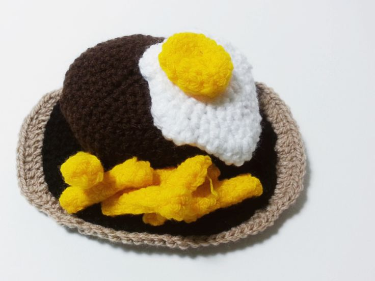 Crochet scott fillet with chips