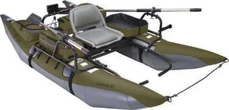 inflatable pontoon fishing boat - toys for big boys ... and girls can play, too :) #outdoor #fishing #boats