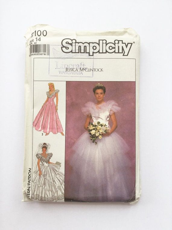 Vintage jessica mcclintock Kleider