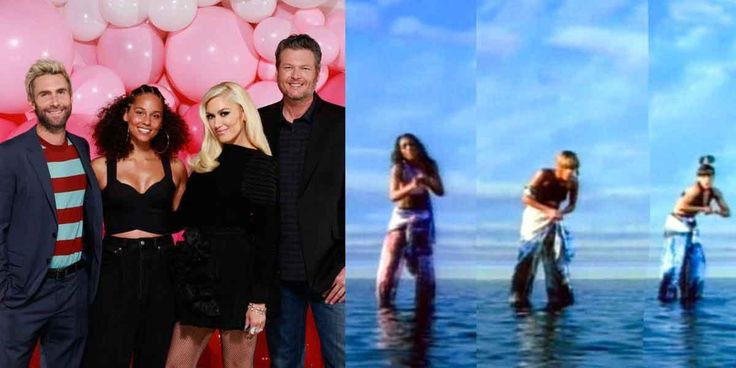 """Blake Shelton, Gwen Stefani, Alicia Keys and Adam Levine Covered TLC's """"Waterfalls"""" and You Have to Hear It"""