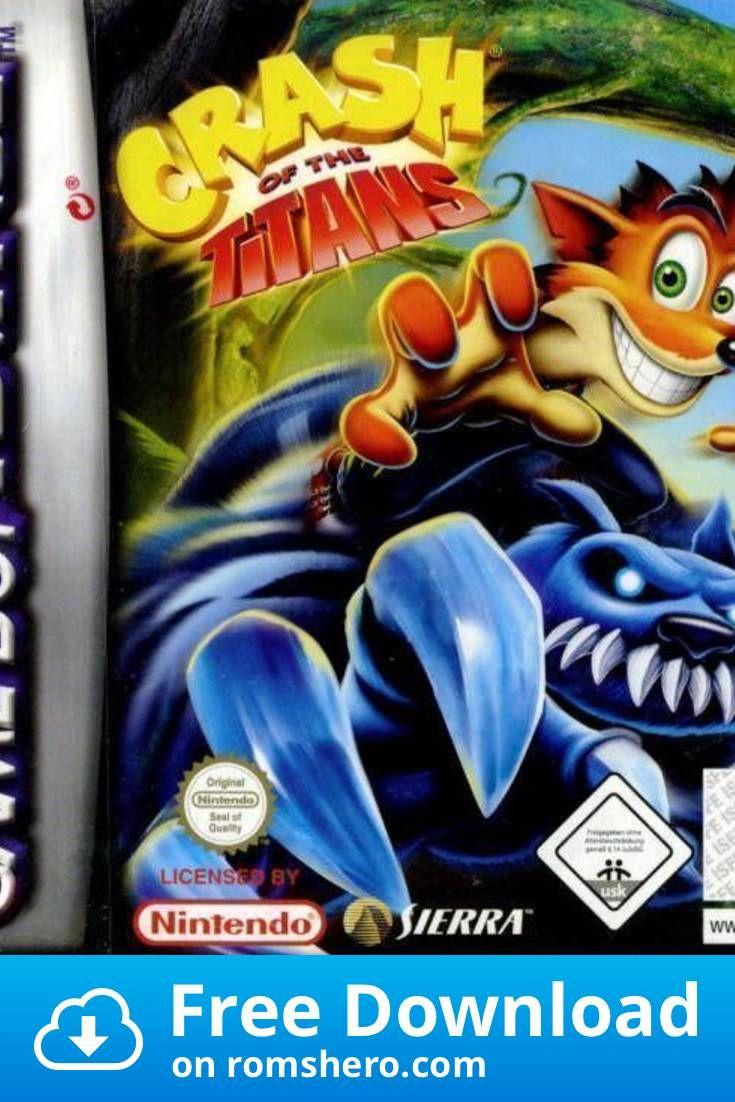 Download Crash Of The Titans Supplex Gameboy Advance Gba Rom Gameboy Advance Gameboy Gba
