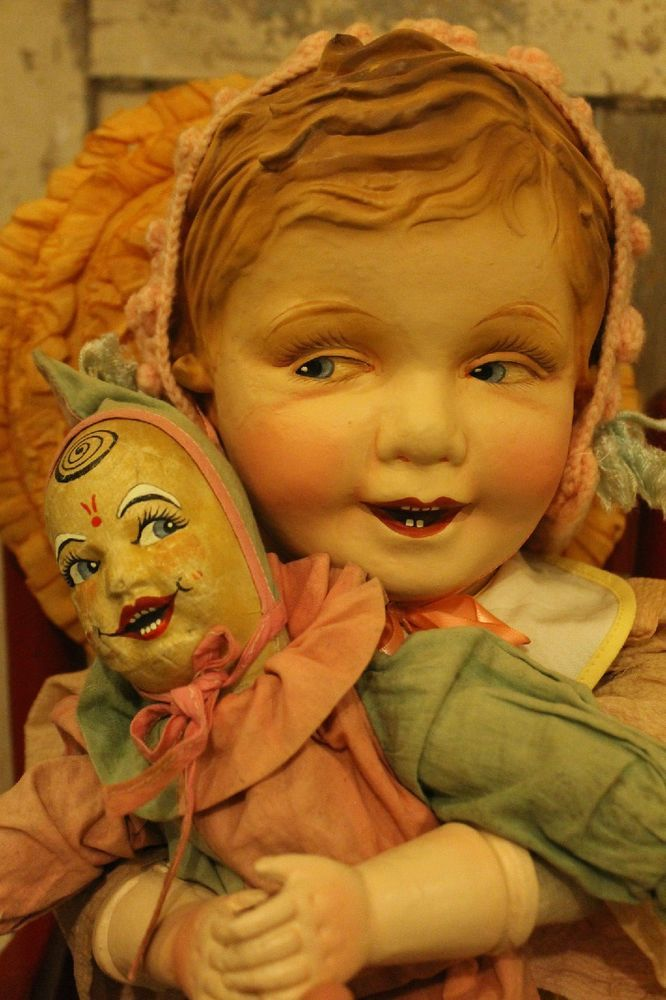 US $59.00 Used in Dolls & Bears, Dolls, Antique (Pre-1930)