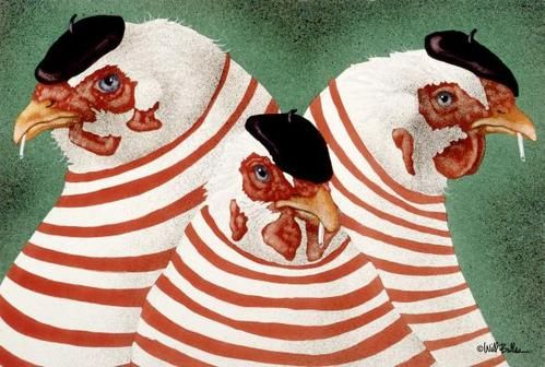 Three French Hens   @Lisa Utter