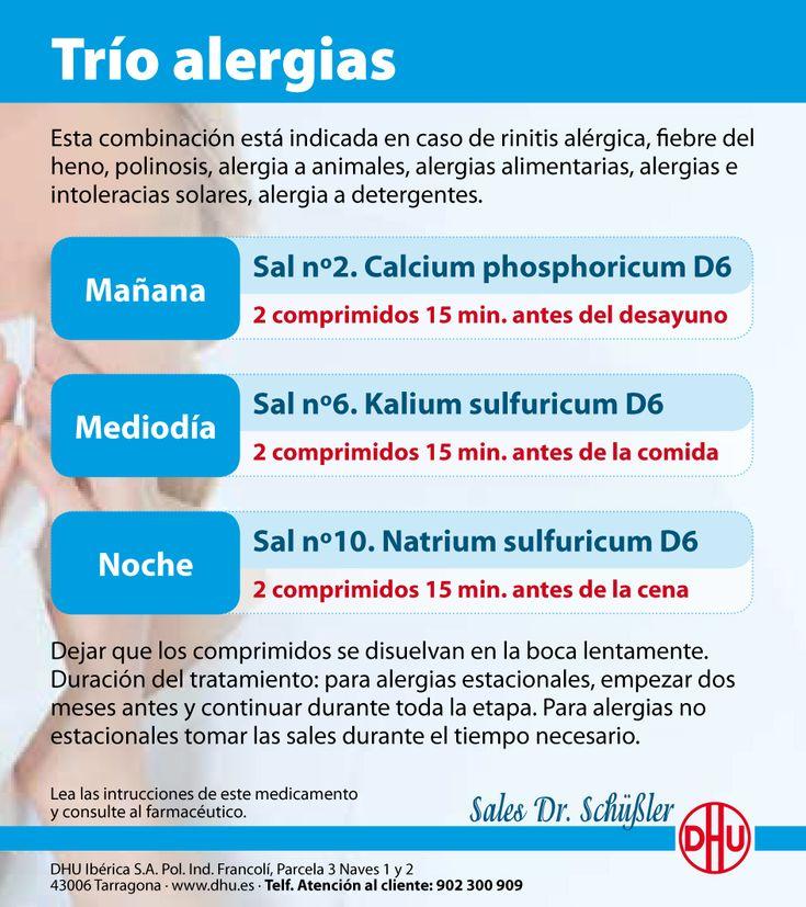 Trio Alergias Sales de Schüssler