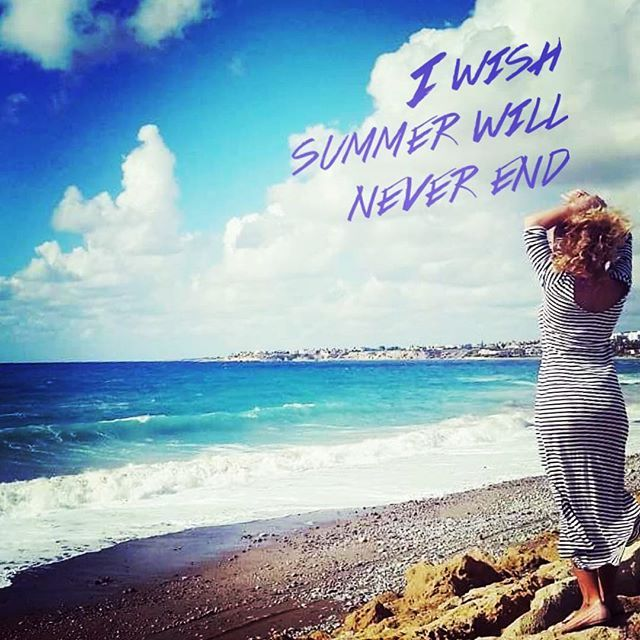 I wish summer never ends  #alwayssummer #beachlife  #puravida #endlesssummer
