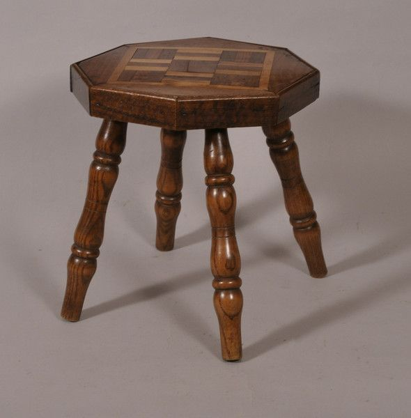 OnlineGalleries.com - 19th Century Child's Stool
