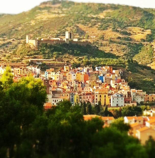 ❤  landscape from Bosa  - Sardinia Italy - photo by anna scano