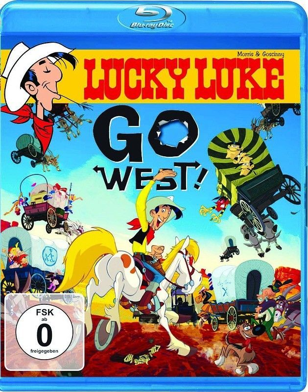 Lucky Luke - Go West! - NEU/OVP - BLU RAY