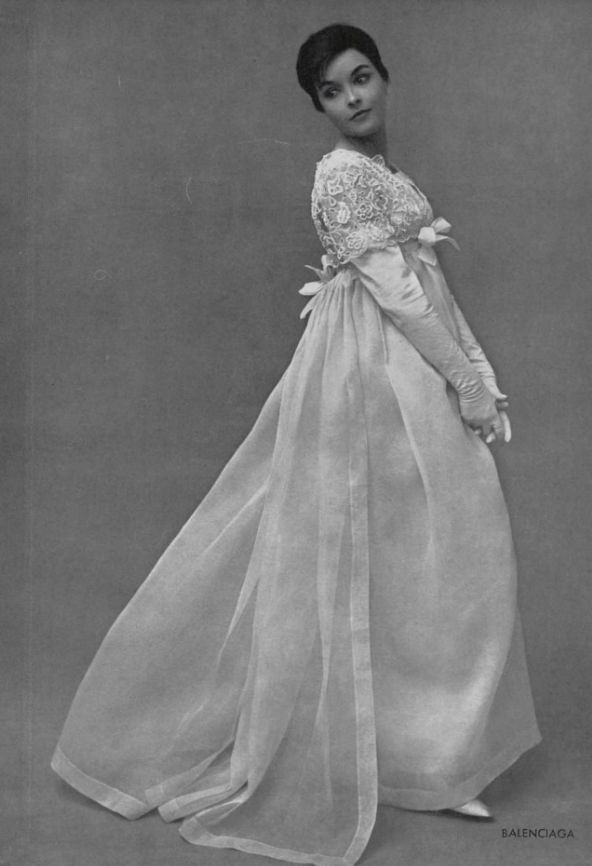 1959  - Balenciaga dress