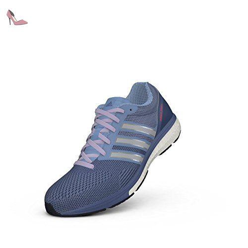 Adidas Adizero Boston Boost 5 MUT Chaussures de course, Prism bleu / argent / violet, 8 M Us - Chaussures adidas (*Partner-Link)