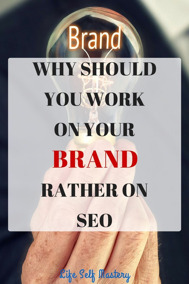 Should you spend countless hours on SEO or work on building your brand which people can identify? Click through to read what is more important!