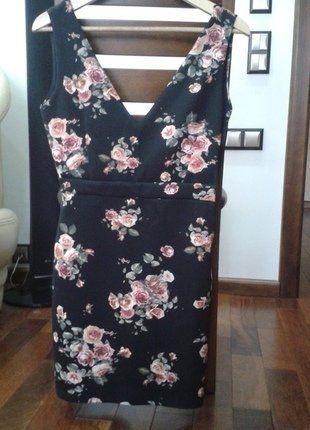 Kup mój przedmiot na #vintedpl http://www.vinted.pl/damska-odziez/krotkie-sukienki/14069081-zjawiskowa-sukienka-mini-w-kwiaty