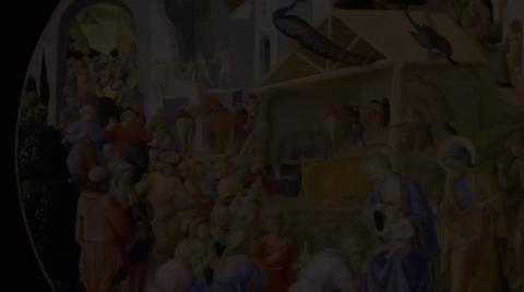 """The Adoration of the Magi,"" c. 1440/1460, Fra Angelico and Fra Filippo Lippi | ArtBabble"