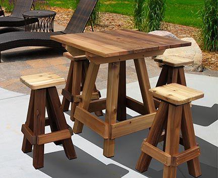 Gronomics Outdoor Picnic Table Bar Top
