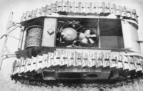 Goliath: German Cable-Controlled Demolition Vehicle