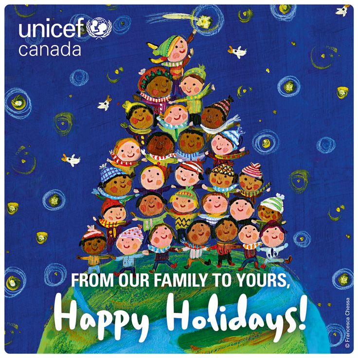 Happy Holidays! Hope you spend the day surrounded by loved ones. Hold them tight & don't skimp on the 'I love you.'