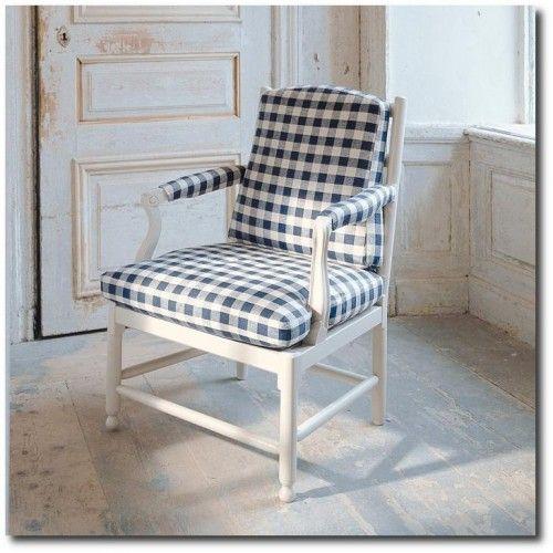 Gustavian Style - A Higher End looking Swedish style (vs Scandinavian Country Style). Medevibrunn - Fåtölj 1700 Collection