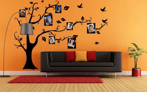 Nájdi si originálny doplnok do svojho moderného interiéru. Rodostrom vo forme nálepky na stenu pre Tvoje rodinné fotografie sa stane neodmysliteľnou bytovou dekoráciou. Kúpiš ju už od 17,99 eur na www.obraznastenu.sk.