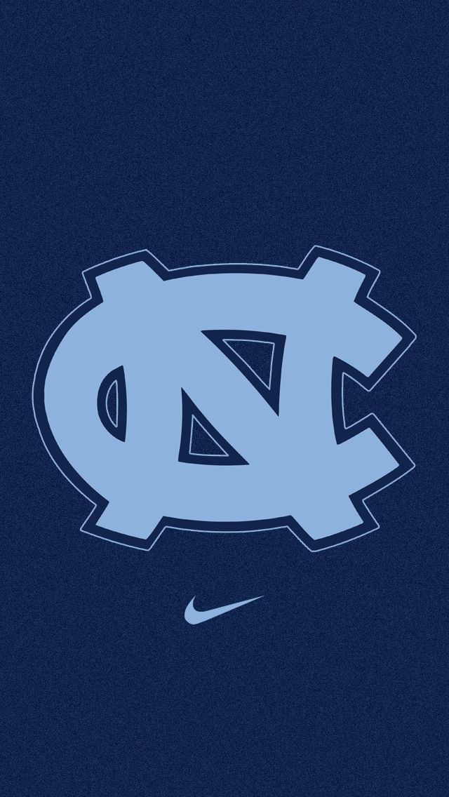 UNC Logo Wallpaper | University of North Carolina Tar Heels iPhone 5 Wallpaper (640x1136)