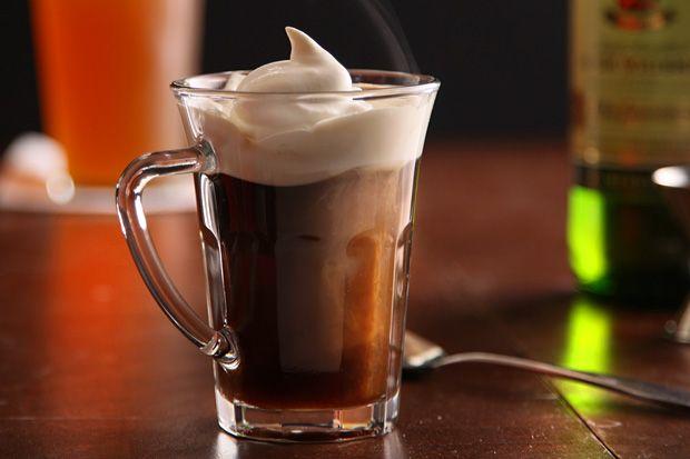 Irish Coffee -- The best way to start St. Patty's Day