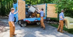 Number one junk removal company in St. Petersburg? That's easy, The Stand Up Guys! #junkremoval #stpetersburg #florida