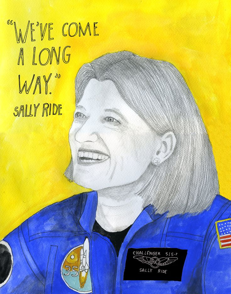 Sally Ride, youngest astronaut and first American woman in space