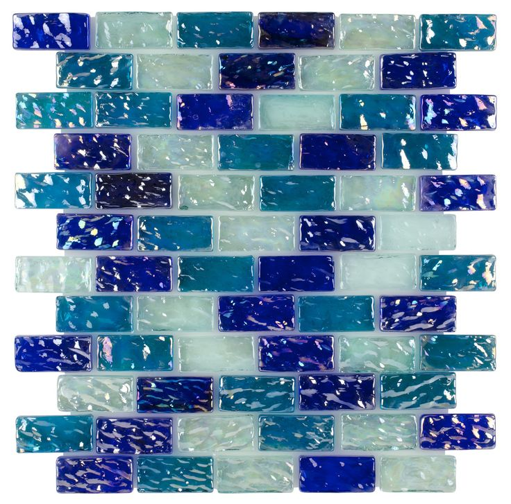Pool Tile Ideas waterline tile ideas for your pool Iridescent Glass Pool Tile Ocean Blue Blend 1x2