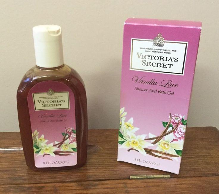 NOS Vintage 8 Ounce Bottle Victoria's Secret Vanilla Lace Shower & Bath Gel    eBay