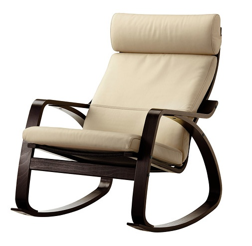 poang rocking chair from ikea. Black Bedroom Furniture Sets. Home Design Ideas