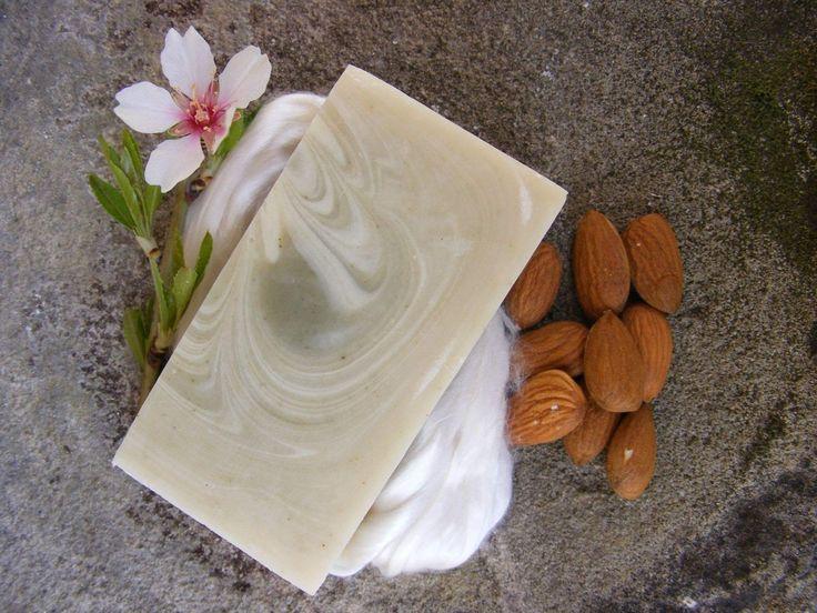 Mandel tussah silk soap