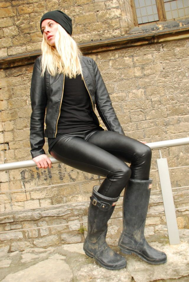 17 bästa bilder om wellies and leather jacket på Pinterest ...   640 x 957 jpeg 122kB