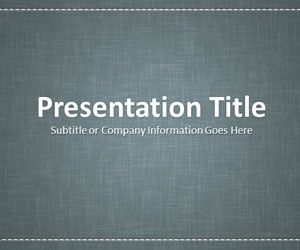 Linen Gray PowerPoint template is a free background slide design that you can download to make attractive business presentations in Microsoft PowerPoint 2007 and 2010