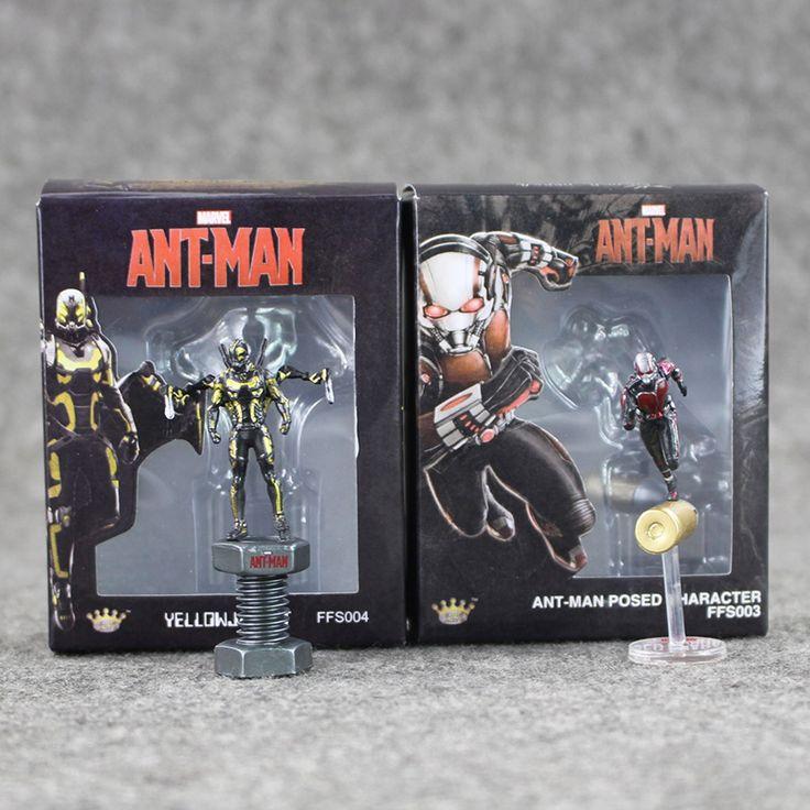 1pcs 6cm Marvel Anime Figures Ant Man Hornets Warrior Action Fugires Doll Model Avengers Toy