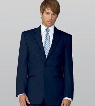 Collins Formal Wear - Navy Suit by Jean Yves  http://www.collinsformalwear.com/catalogue.html