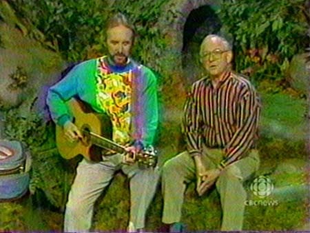 Fred Penner AND Mr. Dressup!!!
